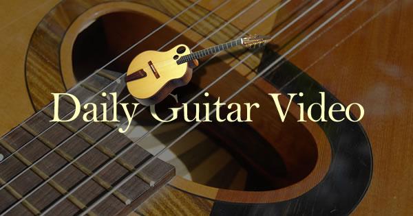 dailyvideo.guitars
